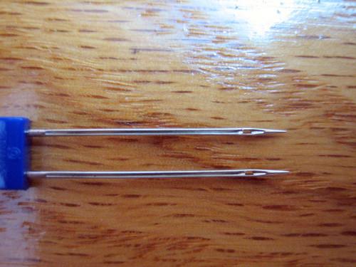 Twin Needle closeup