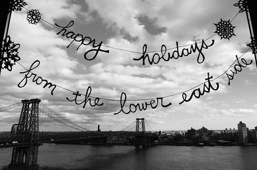 ye lmo + jms holiday card, 2009