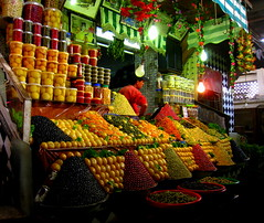 Meknes - Market (Py All) Tags: africa old city color colour heritage shop fruit colorful magasin market olive stack morocco maroc medina historical colourful march couleur oldcity worldheritage meknes historique vieilleville  historicallcity