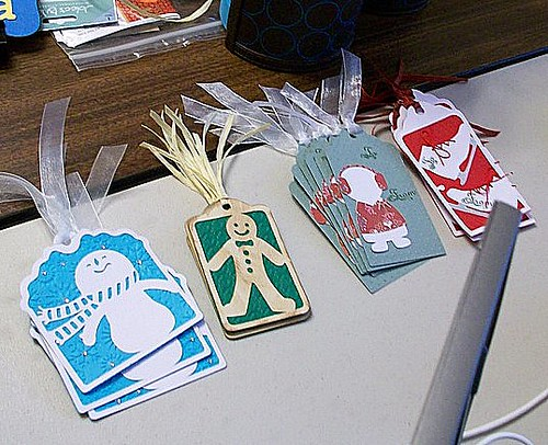 Gift Tags from Flushing