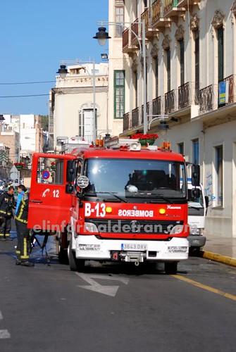 Incencio en Calle Abdelkader 11.12.2009