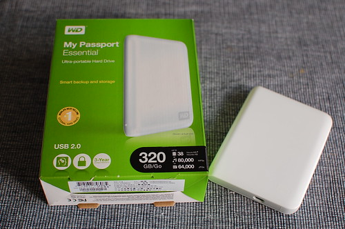 WD My Passport 320G
