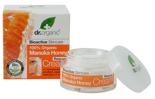 Dr Organic manuka honey rescue cream