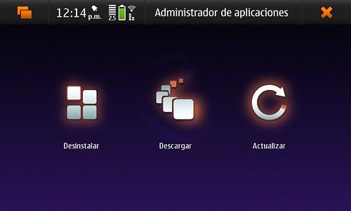 Administración de aplicaciones.