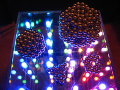 IMG_2310 - Cube Sphere Variations (tend2it) Tags: light sculpture color art geometric ball 3d cool geometry balls magnets led sphere zen cube shape magnet spheres catchy sculptures variation buckyballs neodymium neocube magcube cybercube zenmagnets nanodots zenmagnet