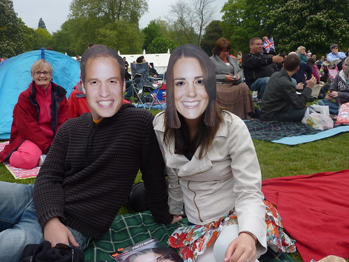 Will and Kate in the park!