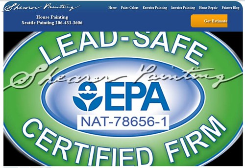 Lead-Safe EPA Certified Firm | Seattle House Painting by saigon oi!