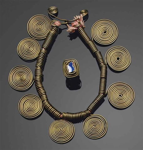 Alexander Calder, Necklace & Ring, sold At Christie's, New York, May 12, 2011 for $506,500