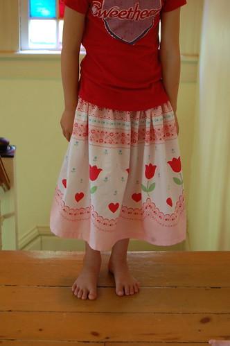 K's tulip skirt