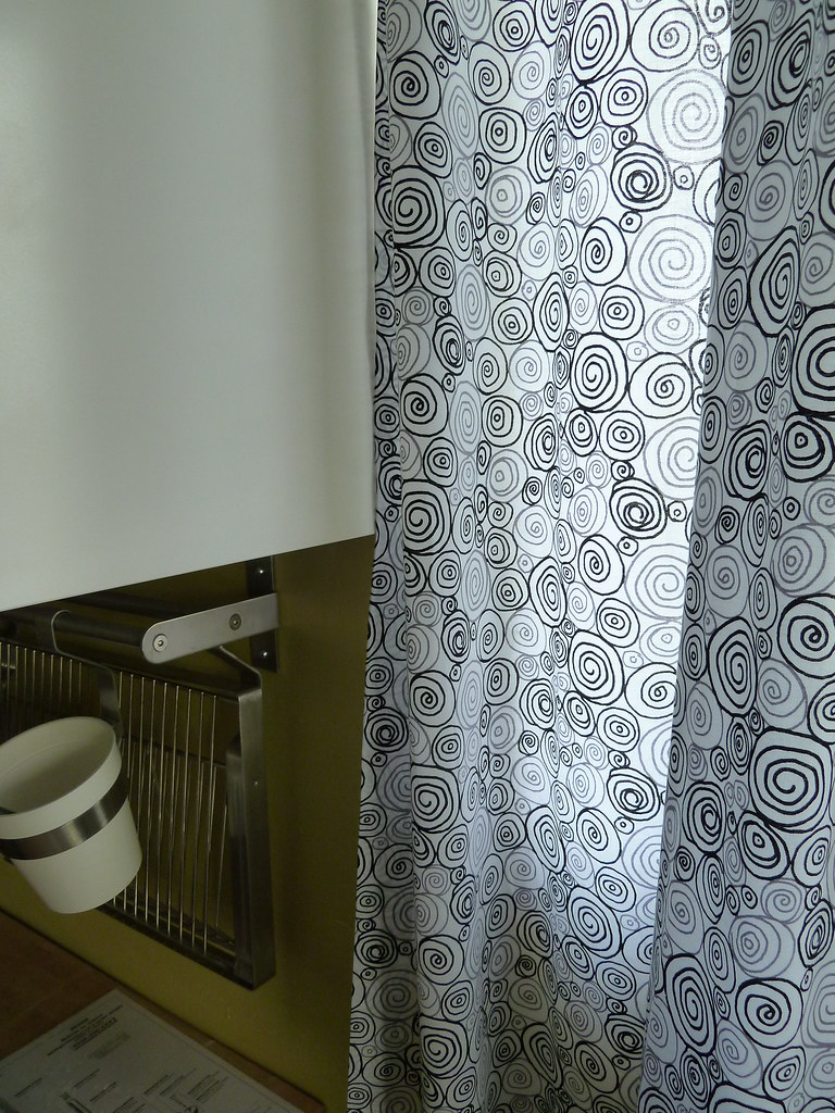 Swirly Fabric For Curtains: I LOVE The Dignitet Curtain Wire System...and