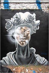 Street Art: Shoreditch (Mabacam) Tags: 2017 london eastend shoreditch streetart wallart urbanart publicart spraycanart aerosolart painting paint mural freehand graffiti urbanwall wall portrait alihamish