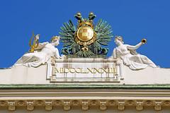 Austria-02868 - Hofburg Palace Detail (archer10 (Dennis) 90M Views) Tags: austria vienna globus sony a6300 ilce6300 18200mm 1650mm mirrorless free freepicture archer10 dennis jarvis dennisgjarvis dennisjarvis iamcanadian novascotia canada