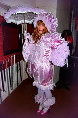 Too frilly? (jensatin4242) Tags: sissy crossdresser transvestite jensatin frilly satin