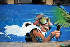 the pilot (mrzero) Tags: art wall effects graffiti paint character poland meeting spray colored graff aerosol jam pilot lublin cfs mrzero