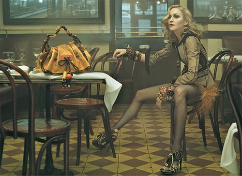 Madonna for Fall 2008 Louis Vuitton Collection