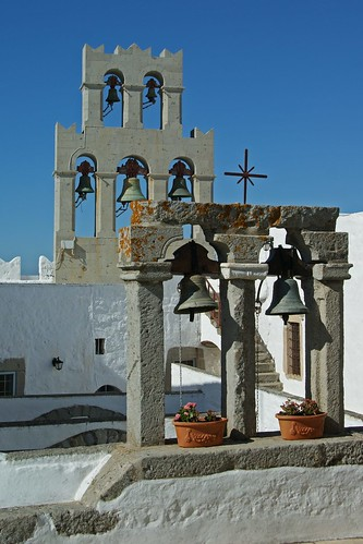 Patmos, Greece.  Manostery of St. John