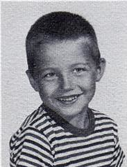 Peter Sylwester, kindergarten pupil at St John Elementary School in Seward, Nebraska