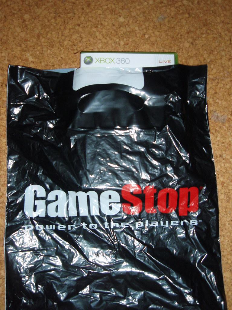 GameStop Heidelber Tüte