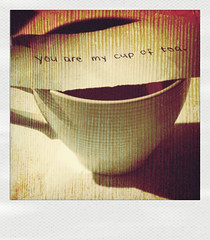 My cup of tea. (ninatakespictures) Tags: cup you tea