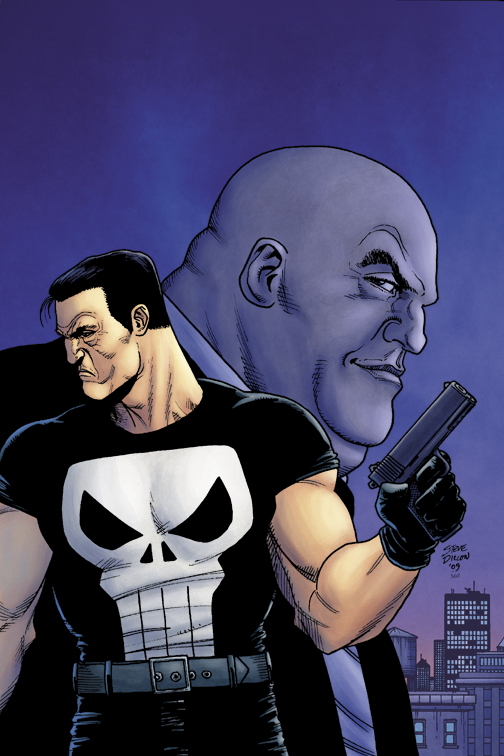 PUNISHER MAX #1 by Steve Dillon