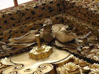 Niwatori Boko Gilded Woodwork