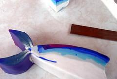 Murrina pez. 1 entrega. (kele__) Tags: pez love with artesanal made polymerclay fimo murrina arcilla polimrica