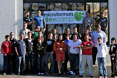 microformatsDevCamp Group, Day 1