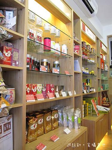 果子咖啡商品陳列架