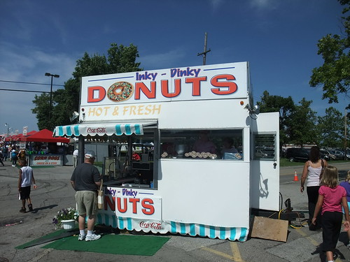 Indy Dinky Donuts Booth