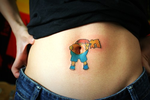 IMG_483 · The Simpsons tattoo