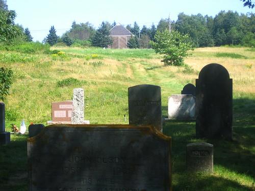 Gravestones @ Olson House