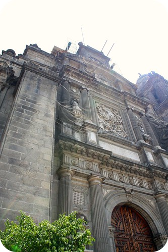 zocolo -Mexico City Cathedral by you.