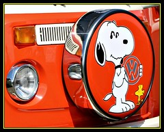 Beachbuggin 09.............Snoopy (Richard Cowdrey) Tags: orange dog wheel vw canon volkswagen eos snoopy camper campervan t2 400d dubscene beechbuggin richardcowdrey