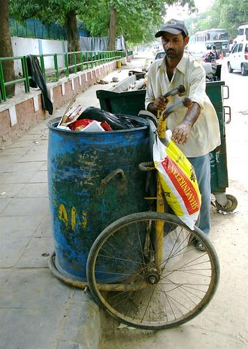 Dharmraj - Old Door to Door Waste-picker