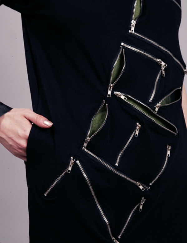 Zipper dress by Nine Zero 4