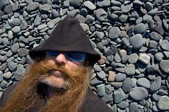 _DSC4196 (dogseat) Tags: me hat alaska beard glasses ginger rocks side roadtrip whiskers homer sideburns 365 dogseat beardo muttonchops basettoni project365 365days dundrearies 128365