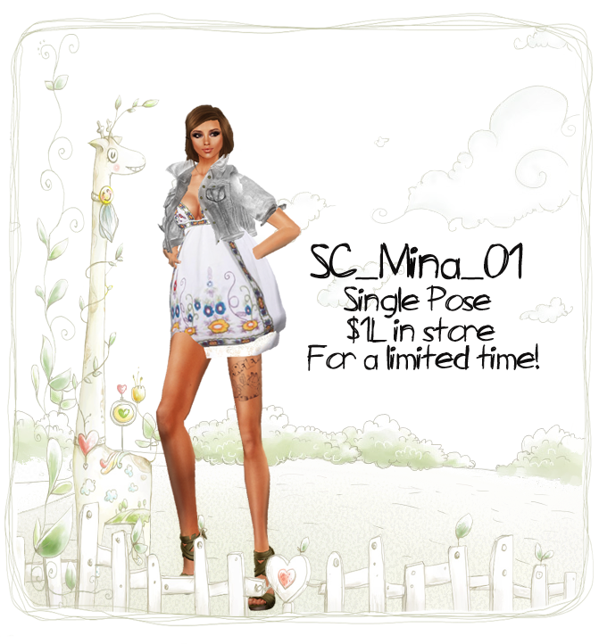 Mina 1L pose poster