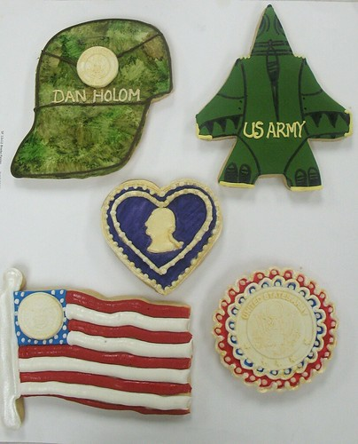 United States Army Cookies