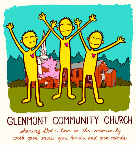 Glenmont Community Church T-shirt design