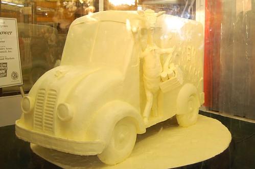 Butter Sculpture - New York State  Fair