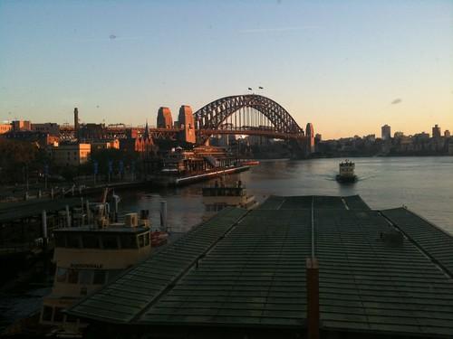 Circular Quay, 6am, iPhone