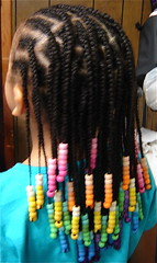 Rainbow beads n Braids! (mrsjehaan) Tags: black hair beads longhair bob twist shorthair ponytail braids naturalhair weave coils extensions locs shreds afropuff nappyhair crimps dreadlocs microbraids kinkytwist blackhairstyles combtwist scalpbraids
