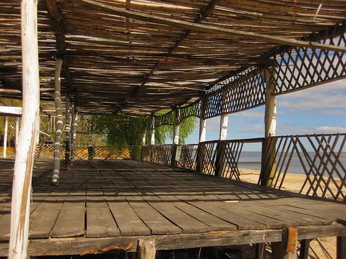 sagging porch, Carmelo, Uruguay