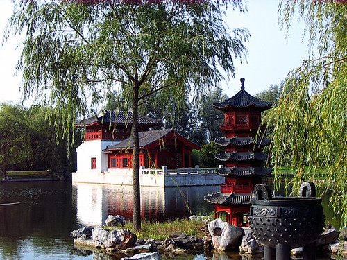 Chinese Garden. Photo: Ulla Hennig