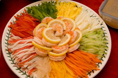 South Korean salad