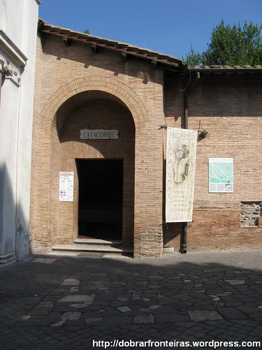 Catacumbas, Roma, itália
