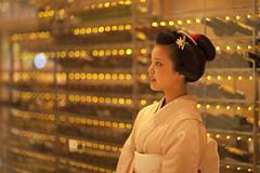faraway (Onihide) Tags: japan evening kyoto explore maiko geiko geisha ayano  apprenticegeisha kagai  homersiliad onihide gkobuion