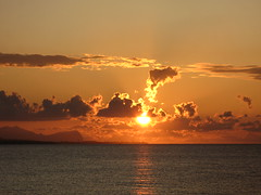 ADOM (RoBeRtO!!!) Tags: light sunset sea sky orange sun reflection water beautiful clouds tramonto nuvole mare cielo era sole acqua luce arancione riflesso marenostrum rdpic canong7