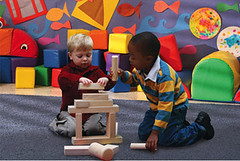Blocks - Boys Playing
