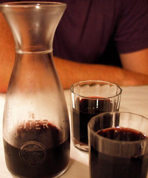 Alfredo & Ada's Rome: Homemade Wine